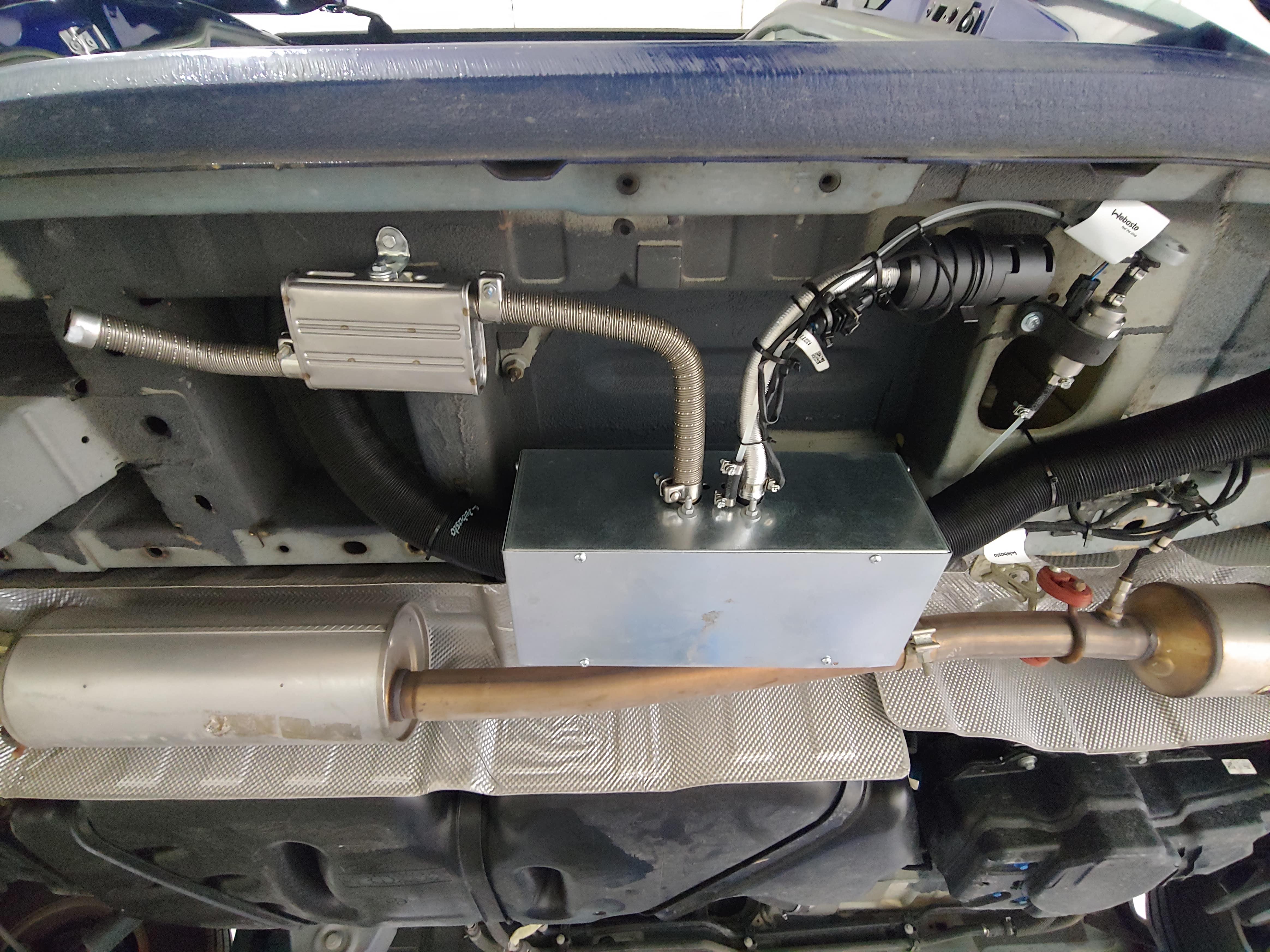 Ford Transit Connect Camper >> Calefacciones estacionarias para furgonetas   Cultura Camper