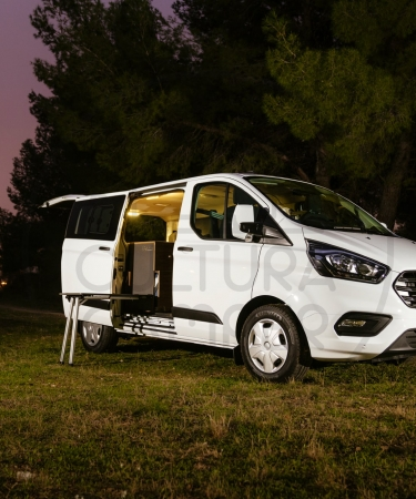 Ford transit Custom 2 Plazas